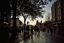 LOMO LC-A. Kodak colour plus 200ISO. Cardiff.